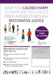NYP19-0089 - Poster: Supporting Victims Let Me Explain Restorative Justice - Offender